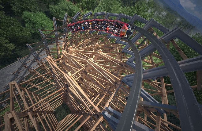 Lightning Rod Non-Inverting Half Loop