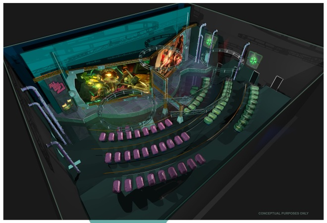 Plants vs. Zombies Garden Warfare 3Z Arena Concept Art 1