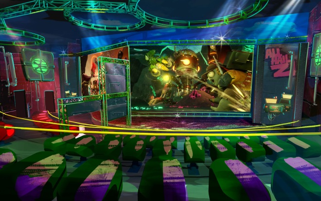 Plants vs. Zombies Garden Warfare 3Z Arena Concept Art 2