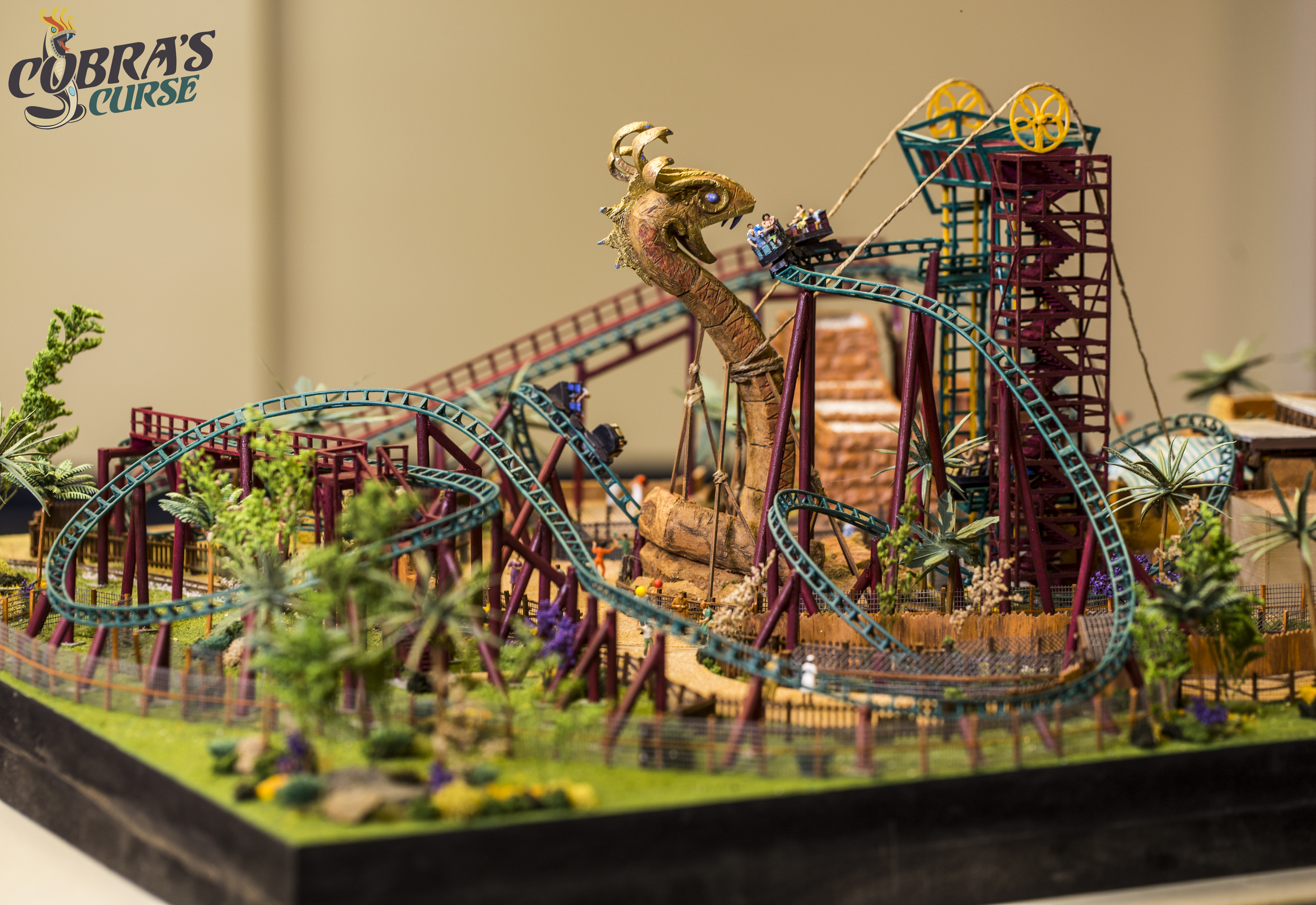 New Cobra\'s Curse Photos + Model Revealed! – Theme Parks and Travels