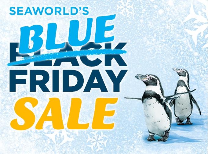 Blue Friday - SeaWorld Logo